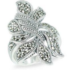 Marcasite jewelry ring HR0578 1