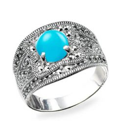 Marcasite jewelry ring HR0583 1