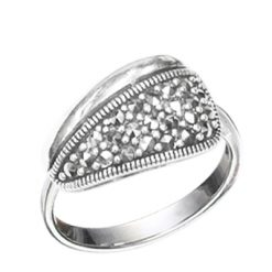 Marcasite jewelry ring HR0613 1