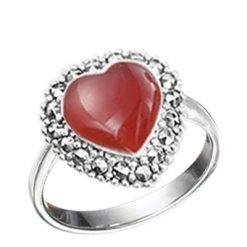 Marcasite jewelry ring HR0622 1