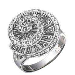 Marcasite jewelry ring HR0625 1