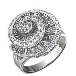 Marcasite jewelry ring HR0625 1