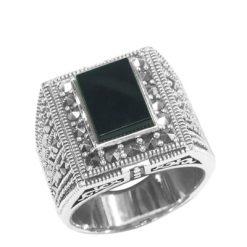 Marcasite jewelry ring HR0631 1