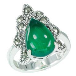 Marcasite jewelry ring HR0632 1
