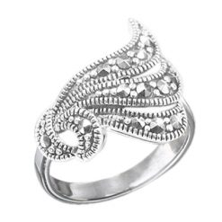 Marcasite jewelry ring HR0635 1