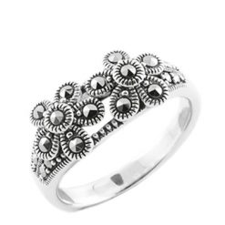 Marcasite jewelry ring HR0641 1