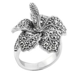Marcasite jewelry ring HR0644 1