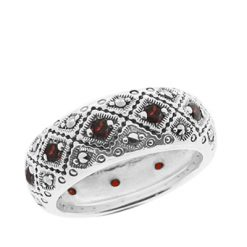 Marcasite jewelry ring HR0657 1