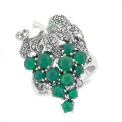 Marcasite jewelry ring HR0665 1