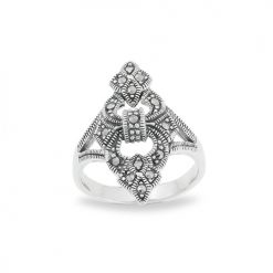 Marcasite jewelry ring HR0671 1