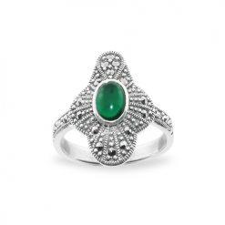 Marcasite jewelry ring HR0672 1