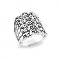 Marcasite jewelry ring HR0682 1