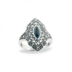 Marcasite jewelry ring HR0686 1