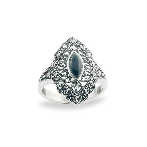 Marcasite jewelry ring HR0686 1