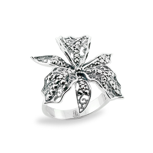 Marcasite jewelry ring HR0687 1