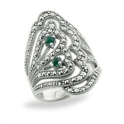 Marcasite jewelry ring HR0691 1