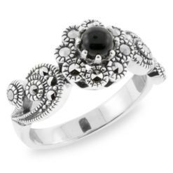 Marcasite jewelry ring HR0706 1