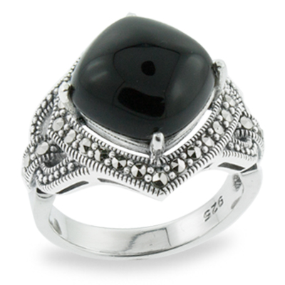Marcasite jewelry ring HR0709 1