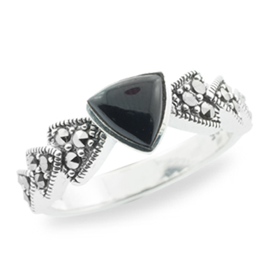 Marcasite jewelry ring HR0715 1