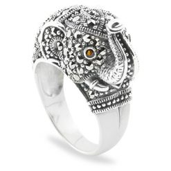 Marcasite jewelry ring HR0719 1