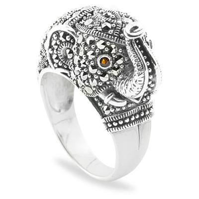 Marcasite jewelry ring HR0719 1