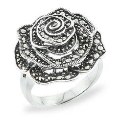 Marcasite jewelry ring HR0737 1