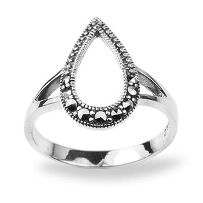 Marcasite jewelry ring HR0750 1