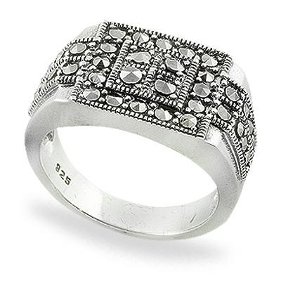 Marcasite jewelry ring HR0759 1