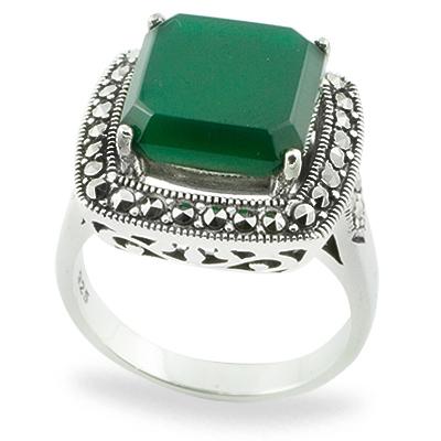 Marcasite jewelry ring HR0762 1