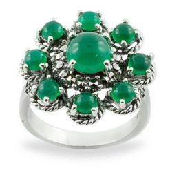 Marcasite jewelry ring HR0765 1