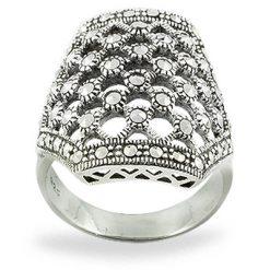 Marcasite jewelry ring HR0768 1