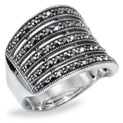 Marcasite jewelry ring HR0775 1