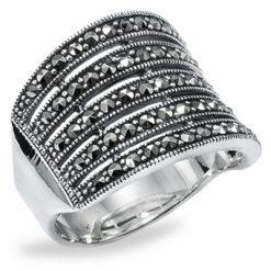 Marcasite jewelry ring HR0775 1