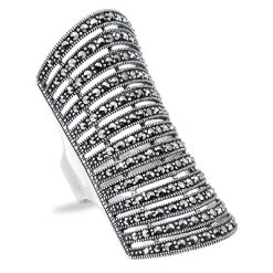 Marcasite jewelry ring HR0777 1