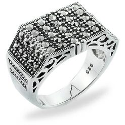 Marcasite jewelry ring HR0780 1