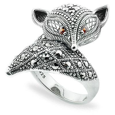 Marcasite jewelry ring HR0781 1