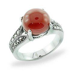 Marcasite jewelry ring HR0782 1