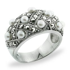 Marcasite jewelry ring HR0806 1