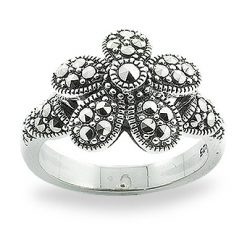 Marcasite jewelry ring HR0810 1