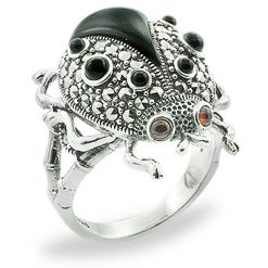 Marcasite jewelry ring HR0813 1