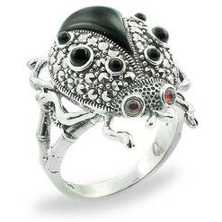 Marcasite jewelry ring HR0813 1