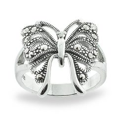 Marcasite jewelry ring HR0815 1