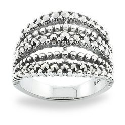 Marcasite jewelry ring HR0819 1