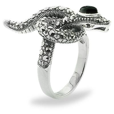 Marcasite jewelry ring HR0822 1