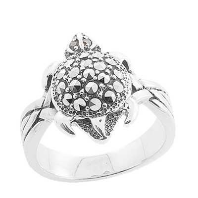 Marcasite jewelry ring HR0823 1