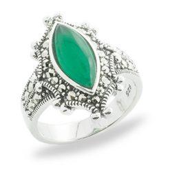 Marcasite jewelry ring HR0826 1