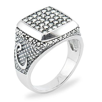 Marcasite jewelry ring HR0858 1