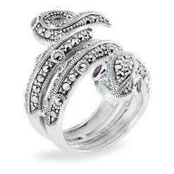 Marcasite jewelry ring HR0859 1