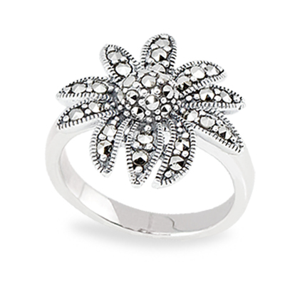 Marcasite jewelry ring HR0860 1