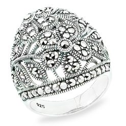 Marcasite jewelry ring HR0863 1